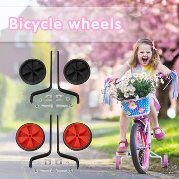 Dodatkowe dodatkowe kółka stabilizatory przenośny wodoodporny rower dla dzieci elementy rowerowe bezpieczeństwa dla roweru 12-20 cali tanie i dobre opinie CN (pochodzenie) Bicycle Auxiliary Wheels