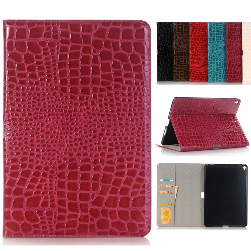 Flip Coque Luxury Crocodile PU Leather Case For <font><b>iPad</b></font> <font><b>Pro</b></font> <font><b>10</b></font>.<font><b>5</b></font> Case Brasket Stand <font><b>Funda</b></font> For <font><b>iPad</b></font> <font><b>Pro</b></font> <font><b>10</b></font>.<font><b>5</b></font> Cover A1701 A1709 Case image