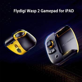 Hot Sale Flydigi Wasp 2 bluetooth Gamepad Controller for iPAD Tablet One Hand Controller Gamepad Joystick for PUBG Mobile Game