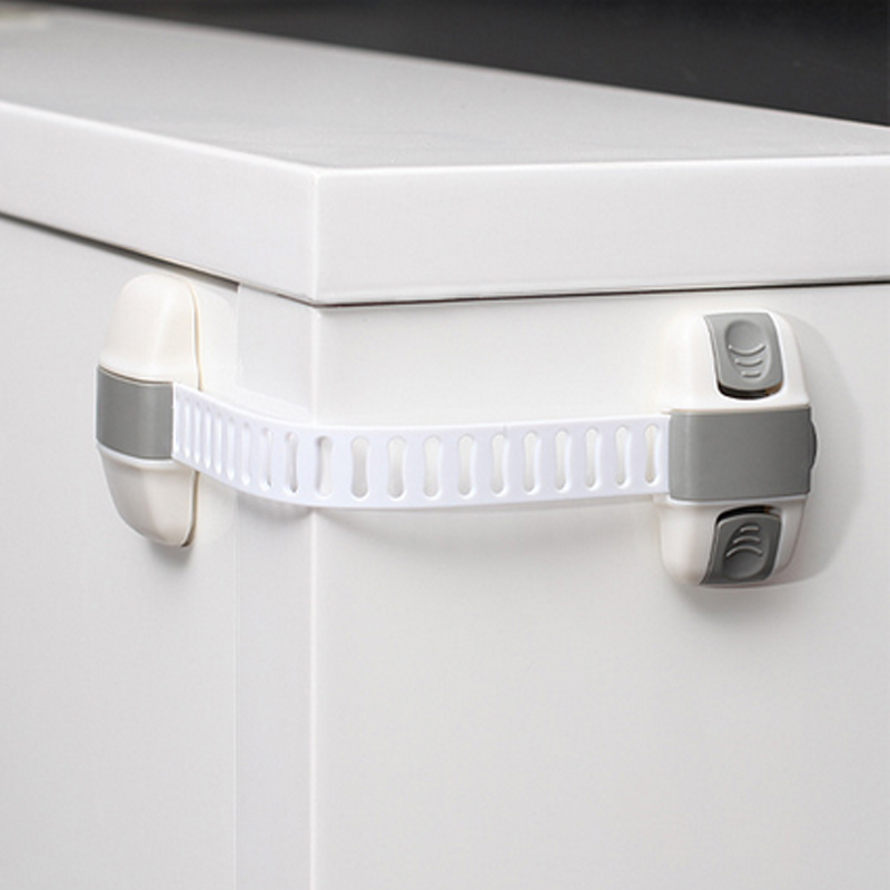 Child Safety Multifunctional Adjustable Drawer Lock Safety Lock Protection Drawer Cabinet Refrigerator Lock Baby Anti Pinch Hand