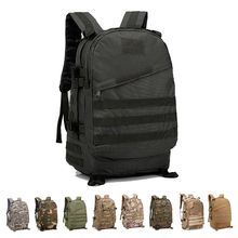 цена на Military Camouflage Backpack Tactical Camping Hiking Hunting Trekking Rucksack Travel Outdoor Backpack Large Capacity Nylon Bag