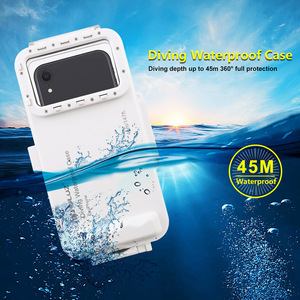 Image 2 - Cadiso 45m/147ft Waterproof Diving Housing Smartphone Dive Taking Underwater Cover Case for iPhone 11/X/8 Plus/8/7 Plus/7 iOS 13