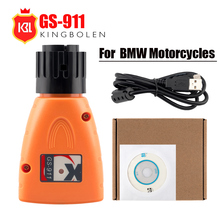 GS 911 עבור BMW OBD2 אבחון כלי GS 911 V1006.3 חירום מקצועי כלי אבחון עבור BMW אופנועים GS911