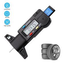 Jauge numérique de profondeur des pneus de voiture, outil de mesure de l'usure des pneus, mesure de l'épaisseur des étriers, système de surveillance