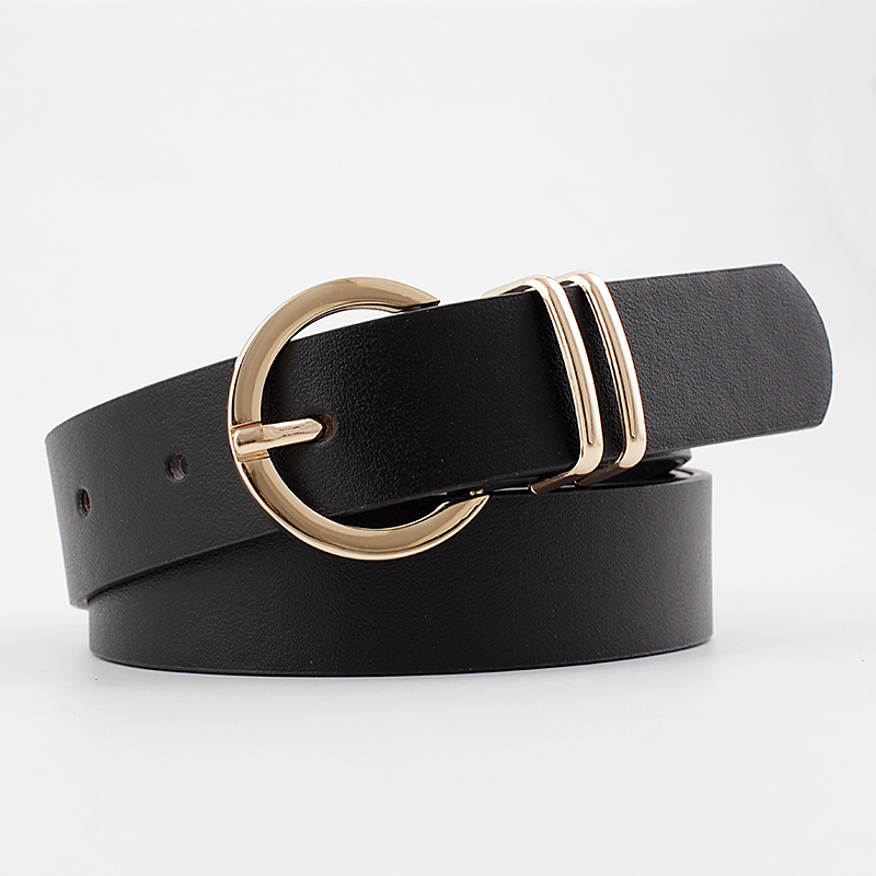 2020 New Designer Women's Wide Black Brown White Pink Wild Trouser Belt Female Cowgirl Western Belts For Women Cintos De Mujer