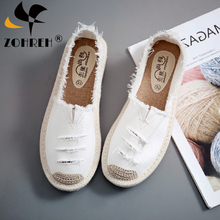 Dropshipping Women Flats Shoes Slip on Casual Ladies Canvas Lazy Loafe
