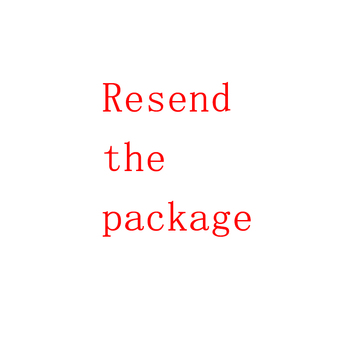 Resend the package.Please do not place an order at will. You must contact us before placing an order. image