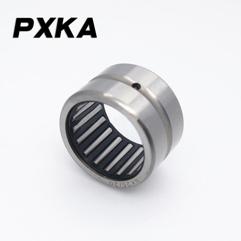 Free Shipping 2pcs Needle Roller Bearing NK Inner Diameter 15 16 17 18 19 20 21 Outer Diameter 23 24 25 26 27 28 29 30