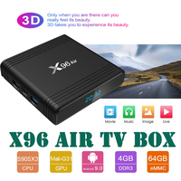 android 4 2 X96 Air Amlogic S905X3 Android 9.0 TV Box QuadCore 2.4&5G Dual Wifi BT Support 8K Smart Media Player X96Air Max set top box (1)
