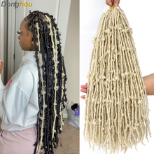 Crochet Hair Messy Butterfly Locs Distressed Locs Pre-Looped 24-Inches Soft 1b-613 New-Style