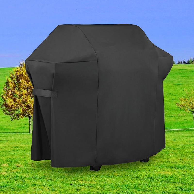 600D ПВХ УФ-стойкий защитный чехол для гриля аксессуары для барбекю водонепроницаемый пылезащитный чехол для барбекю для защиты от дождя