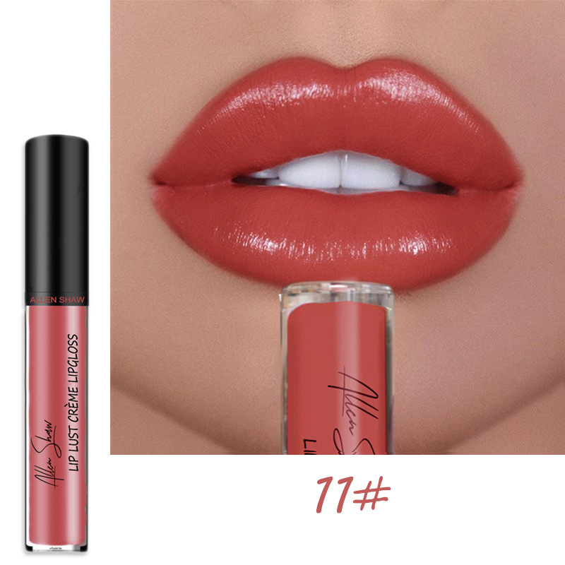 Sexy Women Lipstick Waterproof Long Lasting Moist Lip Gloss Vivid Colorful Lipgloss Women Makeup maquiagem 4