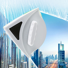 цена Window Wiper Glass Cleaner Brush The Glider Double Side Magnetic Window Cleaner Single Double Glazing Squeegee Scraper For Glass онлайн в 2017 году
