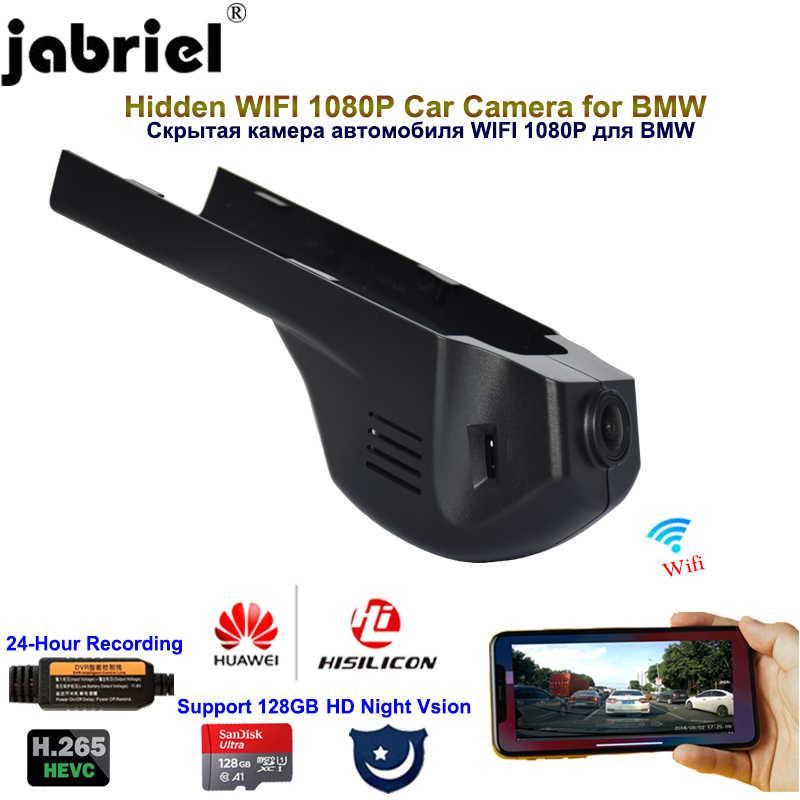 Jabriel 1080P Ẩn Dash Cam DVR Xe Ô Tô Xe Máy Ảnh Cho Xe BMW F20 F22 F30 G20 G30 F10 F48 F39 g01 F25 F15 F16 E90 E46 E60 E84 E83 E71