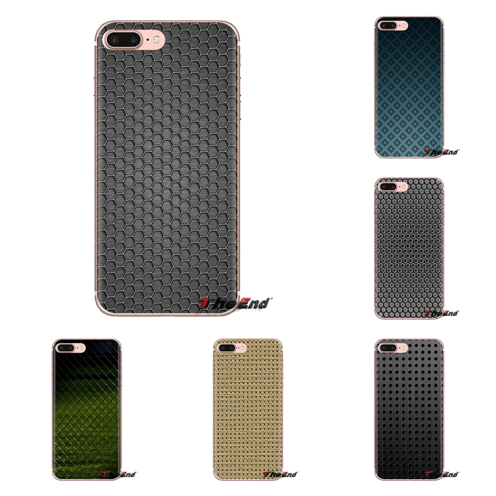 For LG G3 G4 Mini G5 G6 G7 Q6 Q7 Q8 Q9 V10 V20 V30 X Power 2 3 K10 K4 K8 2017 Textures Mesh Transparent Soft Shell Covers