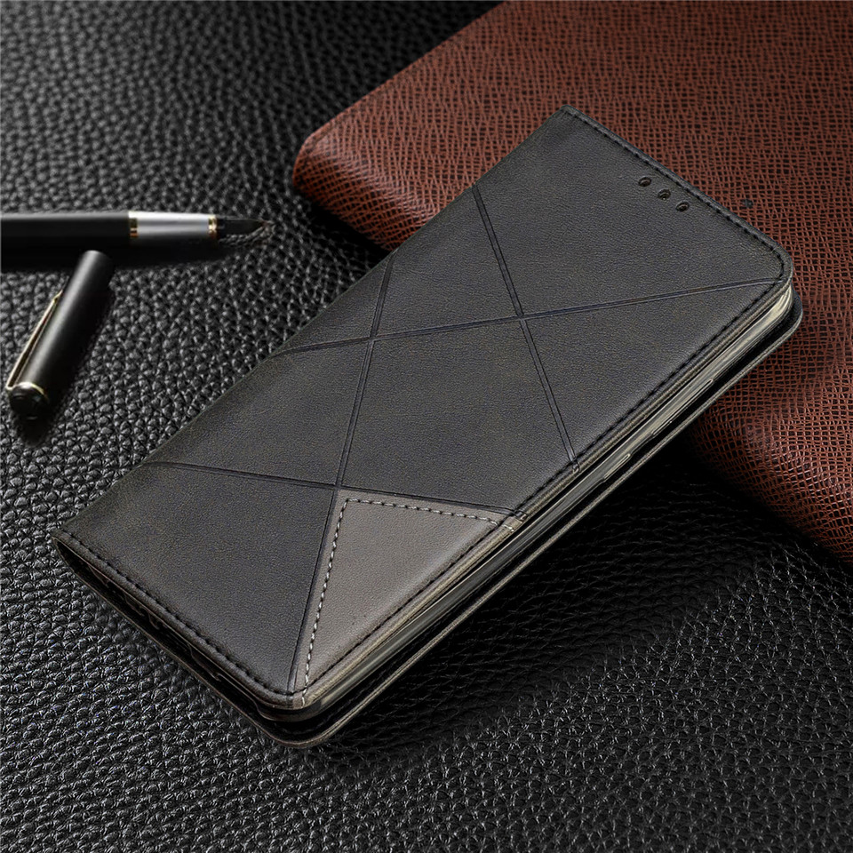Habd4c619ecb349fcb914afda625ca821e For Huawei Honor 10 Lite Case Leather Wallet Flip Cover Soft Silicone Case for Honor 10i 9X 8A 8S Magnetic Case Card Holder