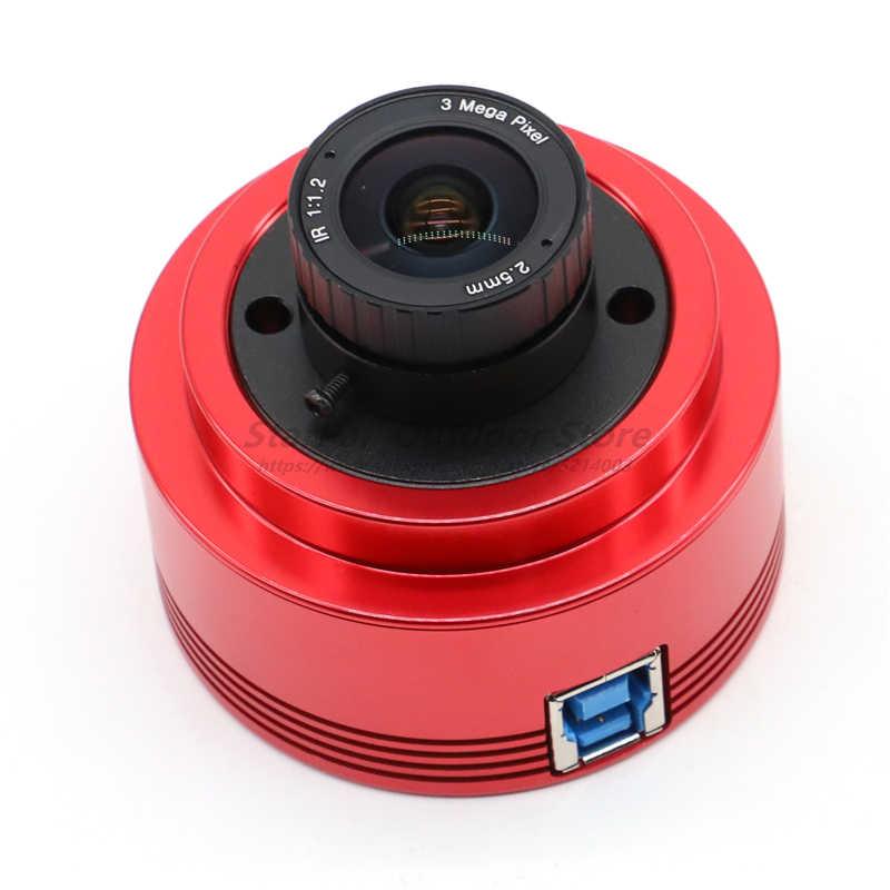 Монохромная астрономическая камера ZWO asi178мм ASI, Планетарная Солнечная Лунная визуализация/гидирование высокого разрешения, высокоскоростная USB3.0 5,0 4 Revie