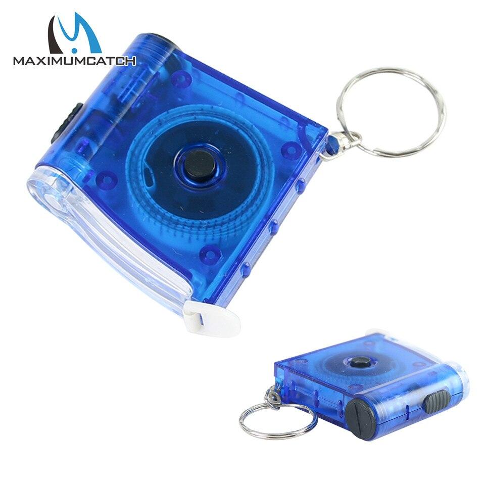 Maximumcatch 100cm Tape-Measure With LED Light Fishing Ruler Fishing Tool