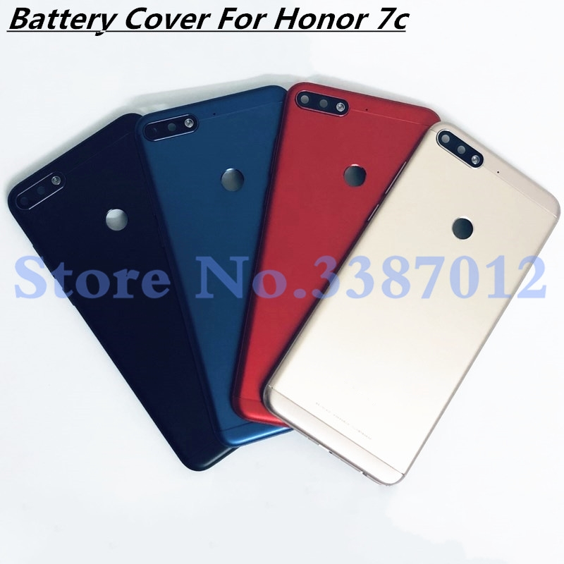 For Huawei Honor 7C LND-AL30 / Honor 7c Pro LND-L29 Back Battery Cover Door Housing Case Rear Parts+Camera Lens+LCD Front Frame