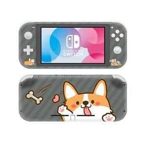 Image 3 - Siberian pies rasy Husky NintendoSwitch skórka naklejka naklejka pokrywa dla Nintendo przełącznik Lite Protector przełącznik do Nintendo Lite skórka naklejka