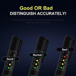 Image 3 - Remvloeistof Tester Mini 5LED Indicator DOT3 DOT4 Digitale Testen Auto Dynamo Detector BM310 12V Batterij Tester Automotive