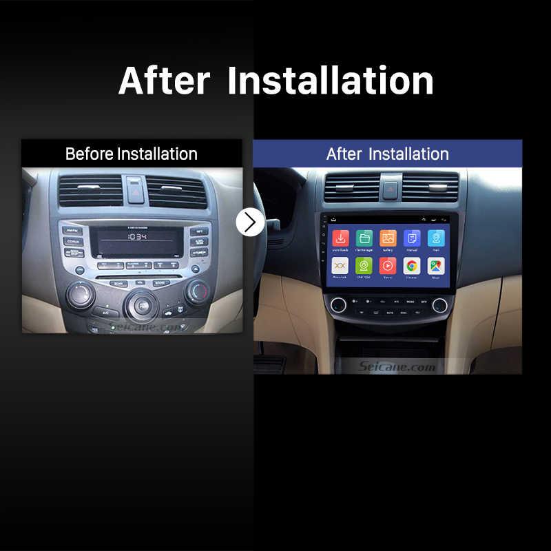 """Seicane 10.1 """"RAM 2GB רכב GPS עבור 2003-2007 הונדה אקורד 7 אנדרואיד 9.0 ניווט רדיו נגן יחידת תמיכת DVR Rearview מצלמה"""