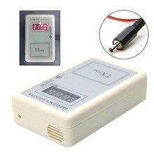 Ręczny pilot bezprzewodowy miernik częstotliwości licznik tester 250 450MHZ dla samochodów Auto zdalnego Cymometer detektor kabel zasilający