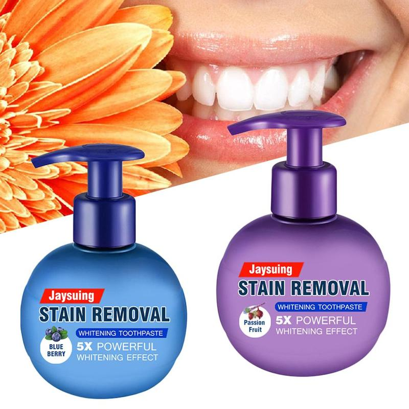 220g Toothpaste Whitening Teeth Removal Stain Reduce Gumleeding Toothpaste Natural Intensive Stain Remover Tooth Care