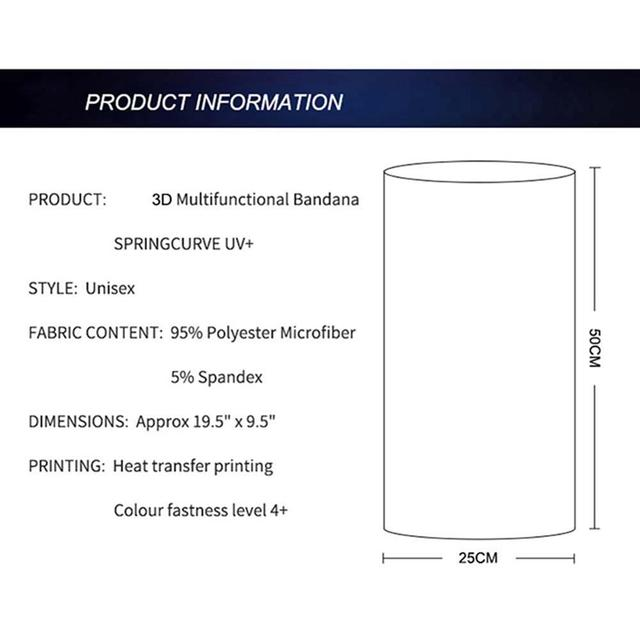 Unisex Solid Color Multi-function Seamless Quick-drying Visor Anti-sweat Belt Hair Bandana Camera Protective 3