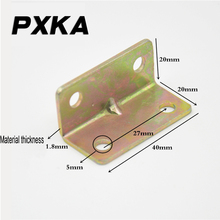 Free shipping widened and thickened corner brackets Plated zinc plated corners  code Table top layer connector fixing piece