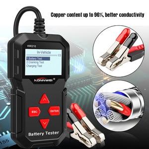 Image 3 - KONNWEI – KW210 testeur intelligent automatique de batterie de voiture, analyseur automatique de batterie de voiture, 100 à 2000CCA