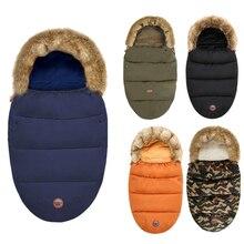Sleeping-Bag Cocoon Baby-Stroller Envelopes Footmuff Infant Newborns Winter Windproof
