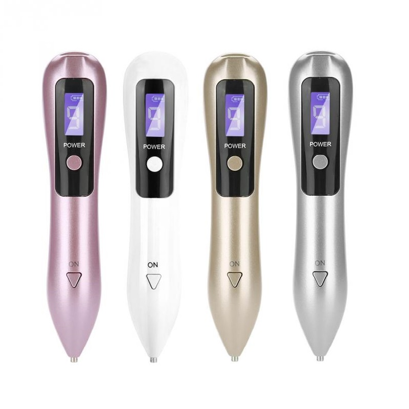 9 Level LCD Laser Plasma Freckle Removal Machine Pen Facial Mole Dark Spots Removal Pen Tattoo Removal Freckle Wart Removal Care