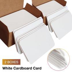 100/200 pçs cartão de jogo em branco cartão de papel duro cartão de papel diy cartão de jogo de tabuleiro cartão de papel de parede feito à mão cartões de mensagem branco