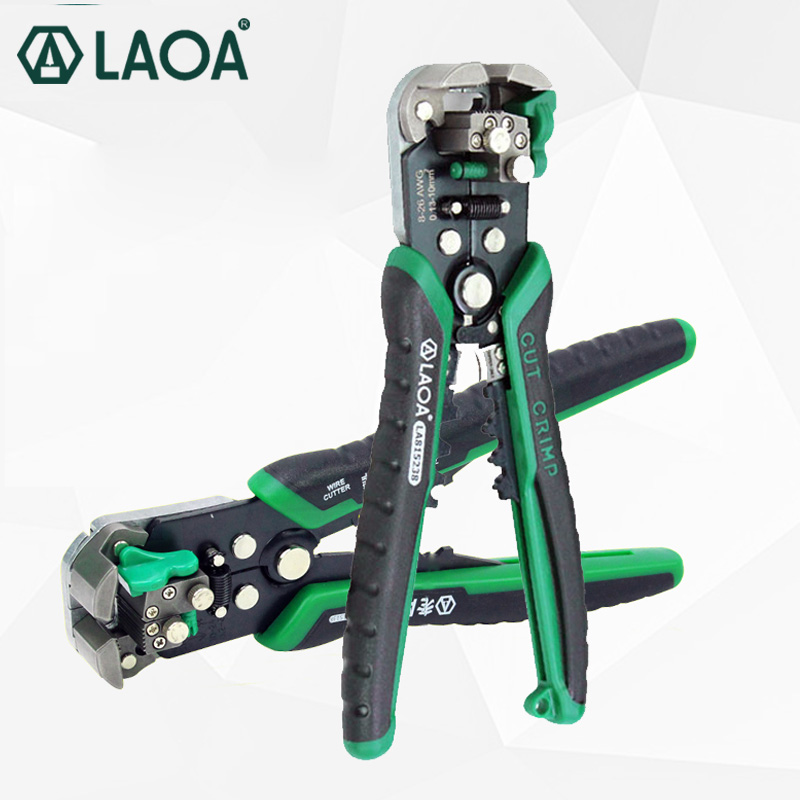 LAOA Wire Stripping Pliers Professional Electrician s Pliers Automatic Stripping Tool Cable cutting Crimping terminal