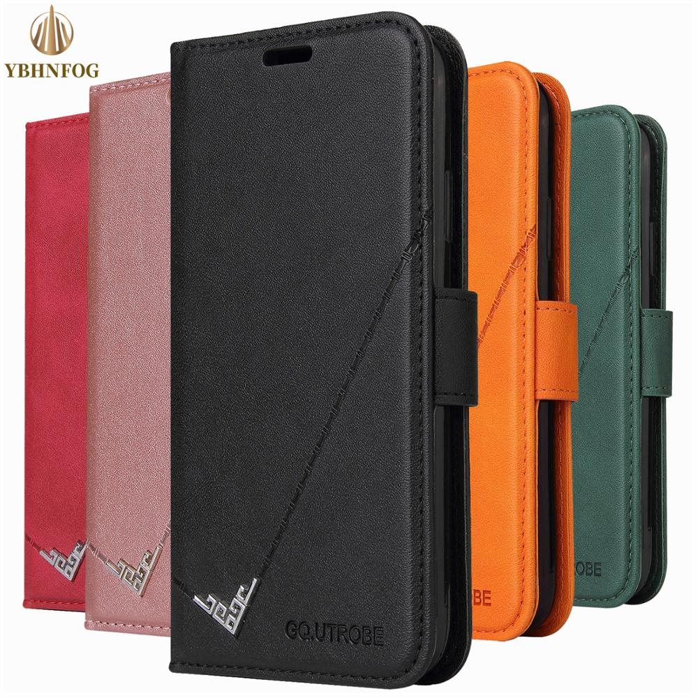 Leather Flip Case For Xiaomi A3 9T 10T Pro POCO X3 NFC Redmi 7A 8A 9A 9C Note 7 8T 9S Pro Max K20 Card Slots Wallet Stand Cover