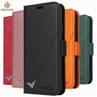 Leder Flip Fall Für Xiaomi A3 9T 10T Pro POCO X3 NFC Redmi 7A 8A 9A 9C Hinweis 7 8T 9S Pro Max K20 Karte Slots Brieftasche Ständer Abdeckung
