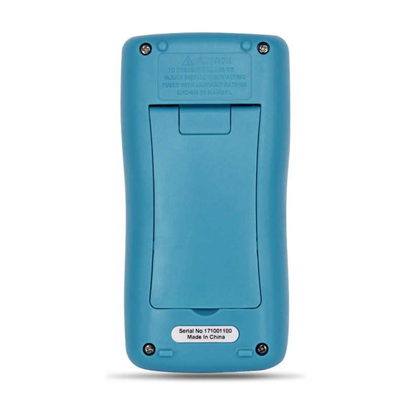 Zt98 디지털 멀티 미터 2000 카운트 자동 범위 ac/dc 전류계 전압계 옴 미니 포켓 미터