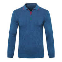 Billionaire Pullover wolle männer der 2019 neue mode casual zipper warme hohe qualität England stickerei große größe M-6XL freies verschiffen
