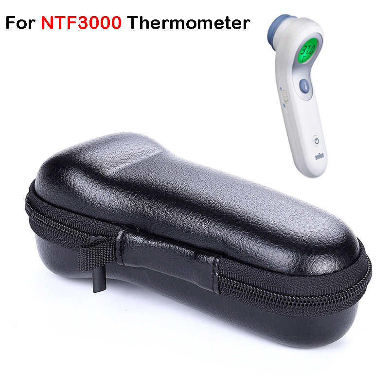 For Braun NTF3000 Thermometer Case  Travel Carrying Storage Case Bag For Xiaomi Mijia Ihealth Thermometer Case