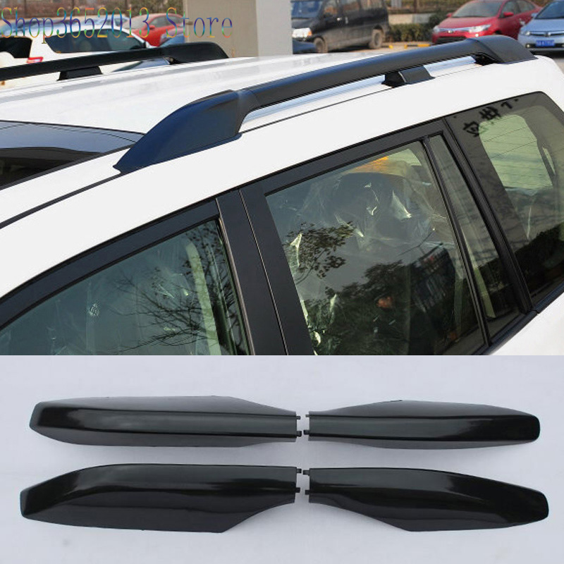 Car <font><b>Accessories</b></font> 1 pcs Roof Rack Rail End Cover Shell Replace For <font><b>Toyota</b></font> <font><b>Prado</b></font> <font><b>FJ120</b></font> LC120 2003-2009 image