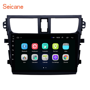 Seicane Head Unit car GPS Radio for 2015 2016 2017 2018 Suzuki Celerio Android 8.1 2.5D screen 9 inch support OBD2 DVR Carplay image