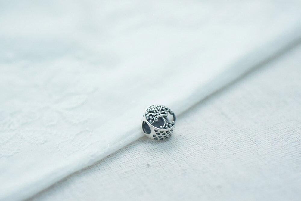 Danturn осенние серебряные бусины 925 пробы ажурная подвеска