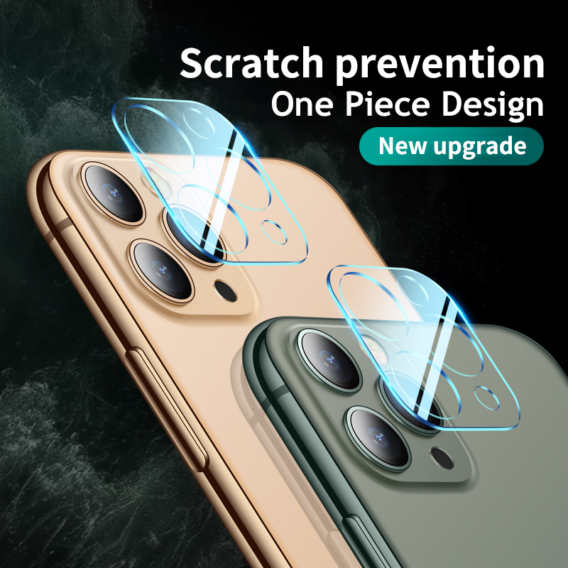 2PCS 3D Full Cover Camera Lens Flim Transparent Protective Tempered Glass For IPhone 11 Pro Max IPhone11 I Phone11 2019 Cover