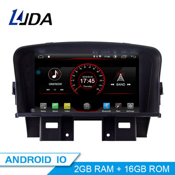 LJDA 2 Din Car Radio Android 10.0 Car DVD Player For Chevrolet Cruze 2008-2014 GPS Navigation Stereo WIFI Multimedia IPS Canbus