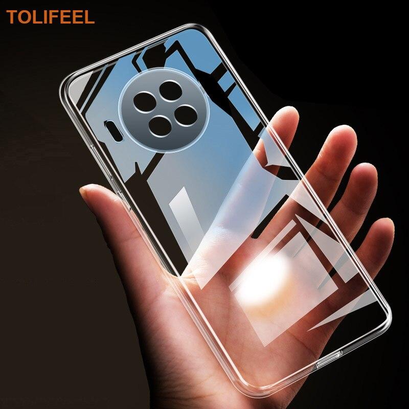 Чехол для Xiaomi Mi 10T Lite TPU силиконовый прозрачный чехол-Бампер Мягкий чехол для Xiaomi Mi10T Lite 5G прозрачный чехол-накладка для телефона