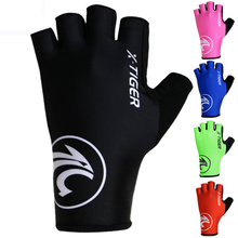 Anti-UV Breaking Wind Summer Cycling Gloves Bicycle Gloves Washable MTB Half Finger Sports Gloves Bike Accessories mtb bicycle gloves hand protection mittens cycling bike half finger gloves for bicycle accessories sports gloves