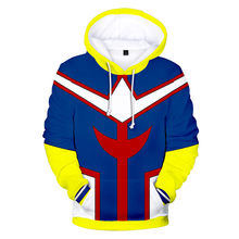 Anime My Hero Academia Todoroki Shoto Hoodie Sweatshirts Jacket Cosplay Costume Unisex School Uniforms Tops(China)