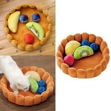 Симпатичная хлопковая подстилка в форме торта для домашних питомцев