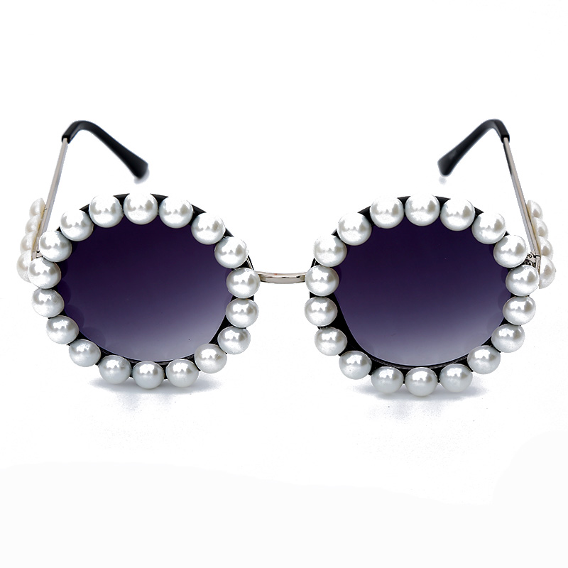 Sublime Fashion Round Sunglasses 140mm 3